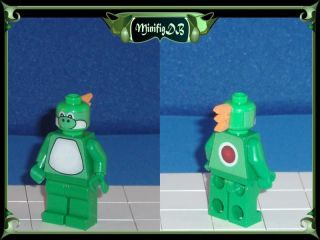 Custom LEGO Super Mario game figure Yoshi #101E