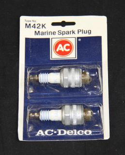 Delco M42K Spark Plugs Vintage Kart Plug perfect for McCulloch Engines