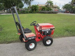Steiner 420 Max 4 Wheel Drive Tractor Onan Gas Engine 956 hrs needs