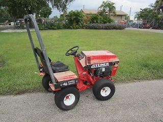 Steiner 420 Max 4 Wheel Drive Tractor Onan Gas Engine 956 hrs needs
