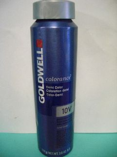 Goldwell Colorance COLOR DEMI Hair Color (Blue Can) 3.8 (# 9 10   MIX)