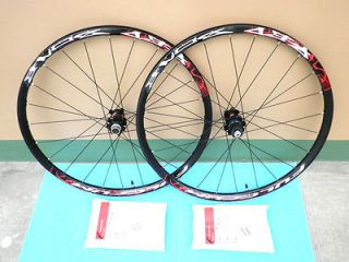 Fulcrum Red Zone Disc 6 Bolt UST tubeless MTB Black Wheel Set F/R