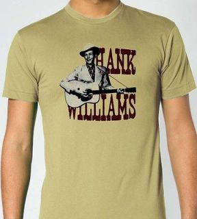 HANK WILLIAMS JOHNNY CASH Country Music Blues T Shirt Large