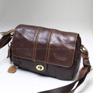 mens leather messenger bag in Backpacks, Bags & Briefcases