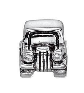 Newly listed Genuine Pandora 925 Silver bead Charm Car 790405CZ B40G
