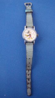 vintage ingersoll mickey mouse watch in Jewelry & Watches