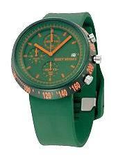New Issey Miyake Trapezoid al SILAT001 watch *GREEN*