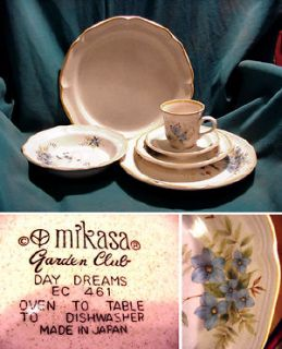 MIKASA, GARDEN CLUB, DAY DREAMS, REPLACEMENT ITEMS