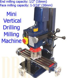 Vertical Drilling Milling Machine Drill Face End Milling