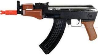 NEW AK47 CQB SPRING ASSAULT Rifle Pistol Gun TACTICAL 200 RD MAG 6mm
