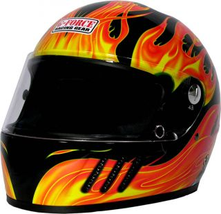 FORCE Racing Gear Snell M2005 Rated Eliminator X Helmet Full Face