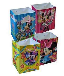 12 Pack Disney Minnie Mouse Medium Party Gift Bags