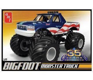 AMT 668 Model Kit Bigfoot Ford Monster Truck 1/25 MIB!!