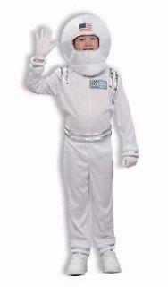 astronaut child halloween costume spaceman medium 8 10 jumpsuit helmet
