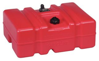 PORTABLE LOW 12 GALLON TOPSIDE FUEL TANK GAS CAN BOAT MARINE ATV RV