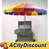 USED COMMERCIAL VENDING CONCESSION MOBILE HOT DOG CART