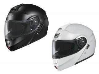 Shoei Neotec Modular Flip Up Motorcycle Helmet Solid Color