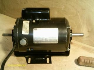 Craftsman Belt Drive Table saw motor 1 1/2 HP #113 1220 dual 115/230V