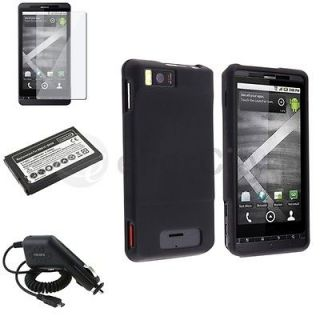 Newly listed For Motorola MB810 Droid X Battery+Charger+Blk Case+SP
