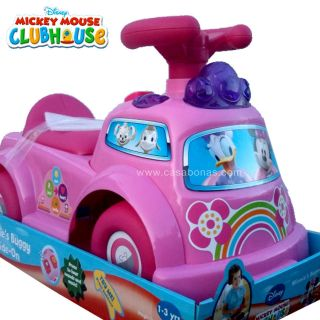 Disney Mickey Mouse Clubhouse Minnie Buggy Ride On Minnie Mouse