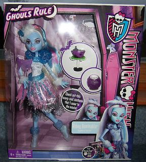Monster High Ghouls Rule ABBEY BOMINABLE Doll New In Box