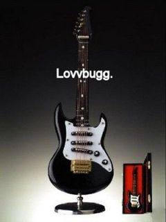 MUSICAL Electric Guitar Mini Instrument for American Girl Doll MSD BJD
