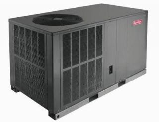 Goodman R 410A Central Air Heat Pump Package Unit 13 Seer 3 Ton