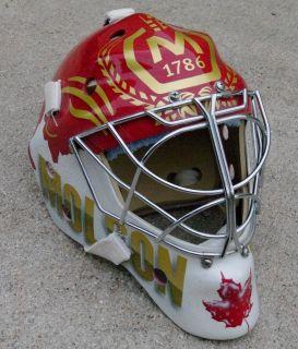 NEW Eddy Masks Molson Canada Hockey Goalie Helmet Mask Cage Custom CCM