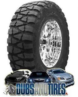 17 New Nitto Mud Grappler Tires Qty 4 Mud Terrain Tires 40/13.50R17
