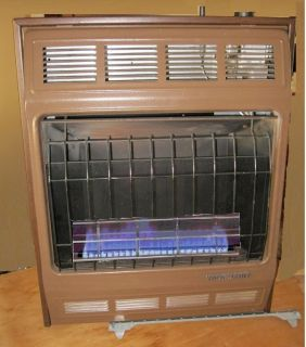 BLUE FLAME natural gas SPACE HEATER 20,000 BTU   not LP or propane