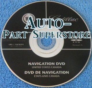 2008 cadillac escalade navigation disc in Car Electronics