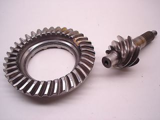 NASCAR FORD 9 GLEASON 5.14 LIGHT WEIGHT SCALLOPED RING & PINION GEAR