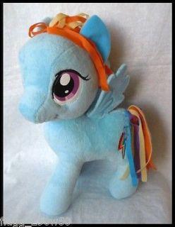 12 My Little Pony Friendship is Magic Rainbow Dash Plush Doll Rare