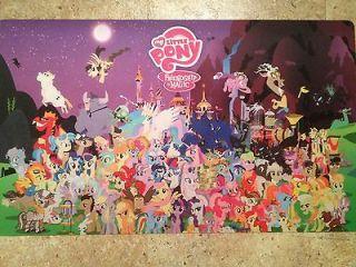 My Little Pony Friendship Magic Yugioh Game Mat New Season 2 Fast
