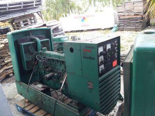 Natural Gas  L/P 30 kw Onan Generators Open Skid mount
