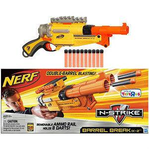 Nerf N Strike Barrel Break IX 2 Double Blaster