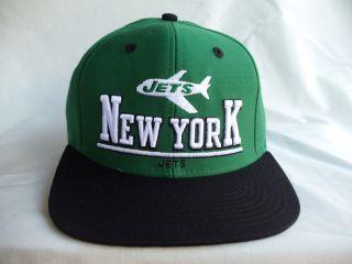 New York Jets Retro Vintage Snapback NFL Hat Cap NEW