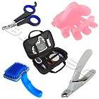 Mixed Styles Nail Clippers Scissors Grooming Trimmer Brush Comb for