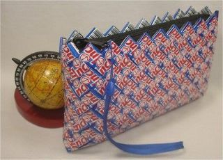 Candy Wrapper COSMETIC Makeup Purse   Anchors Away