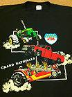 VTG 80s NTPA Tractor Pulling Pull T Shirt Chevy John Deere Hot Rod