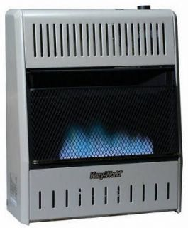 Kozy World 10,000 BTU Blue Flame Natural or Propane Gas Wall Heater