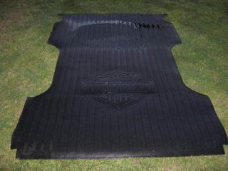 OEM FORD F SERIES SUPER DUTY HARLEY DAVIDSON 8ft. RUBBER BED MAT 2004