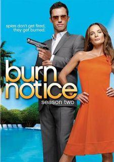 Burn Notice   Season 2 DVD, 2009, 4 Disc Set
