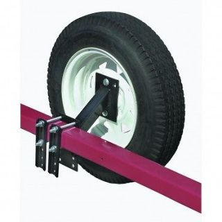 BOAT UTILITY TRAILER SPARE TIRE CARRIER HOLDER RACK Fits Four & Five