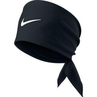 Nike Tennis Swoosh Bandana Black Rafael Nadal Federer 411317 010