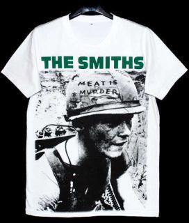 Meat Is Murder Morrissey T Shirt 42 L Indie Brit Pop Rock New White
