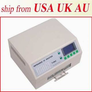 800W INFRARED IC HEATER REFLOW WAVE OVEN TOTALLY DIFFERENT BGA SMD 180