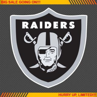 Oakland Raiders NFL Football Logo Car Bumper Window Wall Sticker