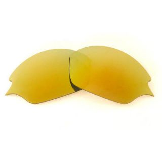 Polarized 24K Gold Replacement Lenses For Oakley Romeo 2.0 Sunglasses