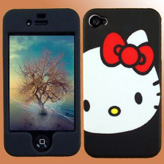 Case for iPhone 4 G S 4G 4S Hello Kitty Cover R Skin Faceplate Apple